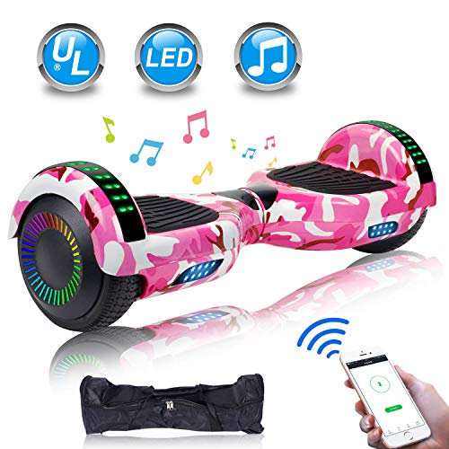 Amazon.com: Uni-SUN - Tabla de hoverboard para niños de 6,5 ...
