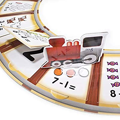 Subtraction Tracks Card Game: Toys & Games