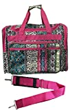 16-inch Travel Duffle Bag   Multiple Designs to Choose From   Perfect Travel Size Duffel Bag by Unique Traveler (Bohomenian Patch Print)