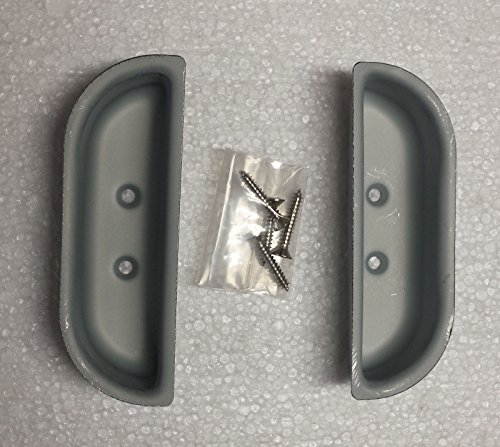 YOT Front Metal Door Handle Cup Set fits 1973-79 Ford Truck F100 F150 F250 & 78-79 Bronco