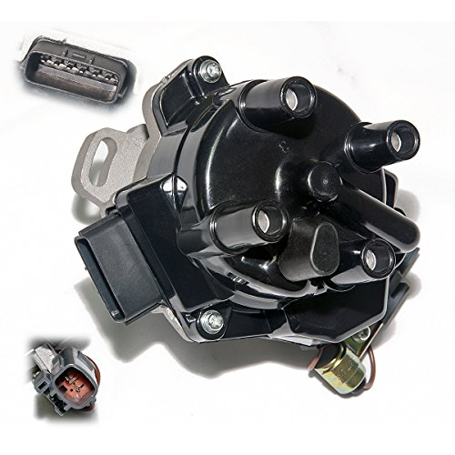Brand New Compatible Ignition Distributor w/Cap & Rotor FDW-9E001 for 1996-2001 Nissan Altima 2.4L 22100-9E001 D4T96-01 606-58889 84-58460 D7094 (Computer Nissan Altima)