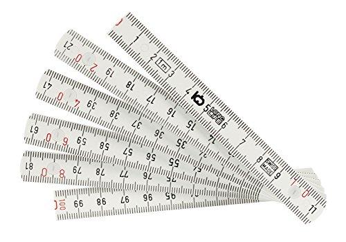 Folding Ruler - Wiha 61601 MaxiFlex Fiberglass Reinforced Folding Ruler, Assorted Colors