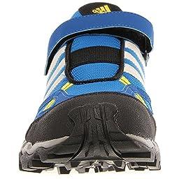 adidas Outdoor AX1 CF Hiking Shoe - Kid\'s Blue Beauty/Chalk/Vivid Yellow 6