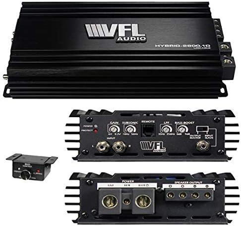 American Bass VFLHYBRID28001D Vfl Hybrid Amplifier Linkable 2800 Watts D Class