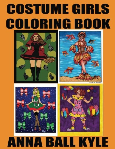 Halloween Costume Kyle (COSTUME GIRLS Coloring Book)