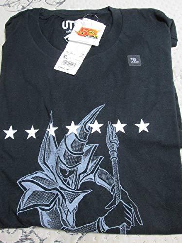 遊戯王 Tシャツ XLサイズ ブラック 週刊少年ジャンプ 50周年 ユニクロ コラボ グラフィックT ブラックマジシャン