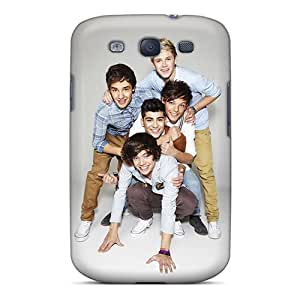 Excellent Cell-phone Hard Cover For Samsung Galaxy S3 With Custom Beautiful One Direction Skin JohnPrimeauMaurice