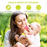 SLotic Baby Teething Toys 6 Pack - Silicone Natural