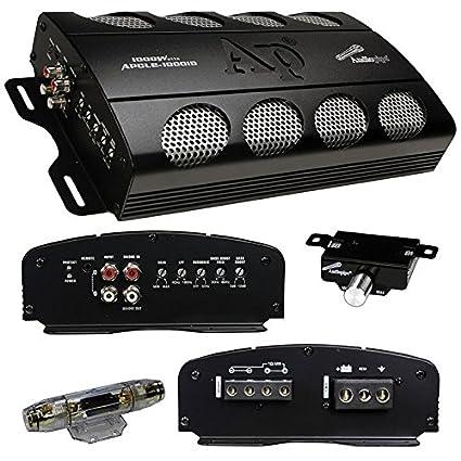 Amazon Com 1000 Watt Class D Amplifiers Car Stereo Amplifier For