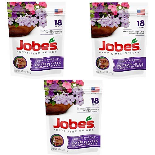 Jobe's Fertilizer Spikes for Flowering Plants (54 Spikes)