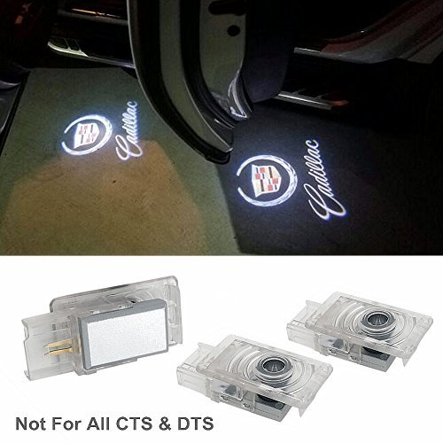 Door Lights Cadillac Compatible Logo Lights Car Door Lighting Entry Ghost Shadow Projector Laser Bright LEDs Emblem Welcome Lamp Easy installation for ATS SRX XTS Accessories Replacement