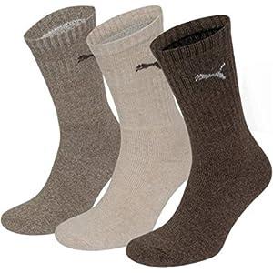 Puma – chaussettes sport – pack avantageux au choix – avec logo – Femmes et hommes