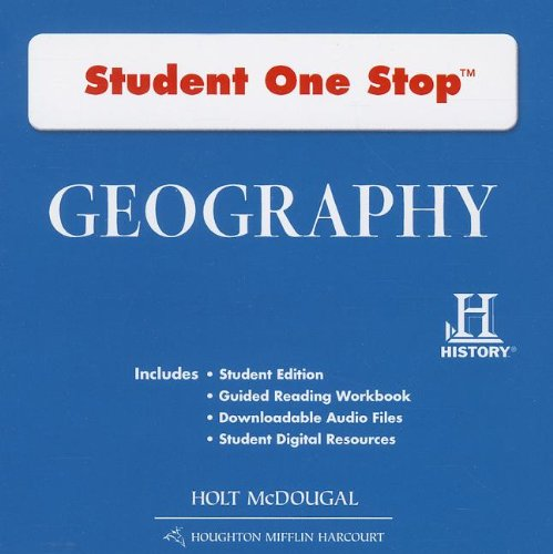 Geography: Student Edition One Stop DVD-ROM 2012 pdf epub