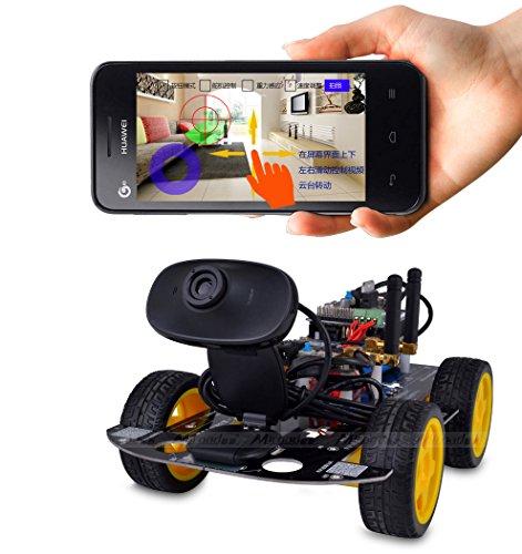 Miroad SM3 Wi-Fi Smart Robot Car Kit for Arduino, 4 Wheel - Import