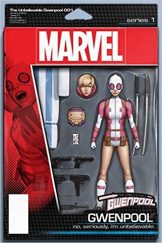 Read Online Gwenpool #1 Christopher Action Figure Var Comic Book PDF