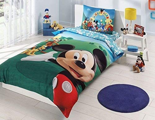 Disney-mickey-single-twin-duvet-cover-set-bedding-bed-linen-licensed-%100 Cotton