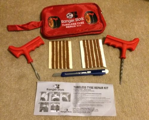 CAR VAN TYRE TIRE PUNCTURE REPAIR KIT WITH 10 STRIPS BESTSELLER