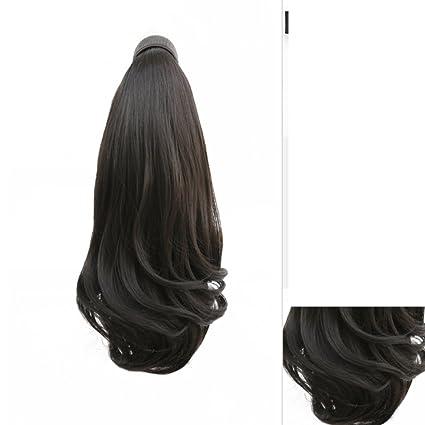 La invisible mágica caballo-peluca de pelo/volumen corto esponjosa cola de caballo-