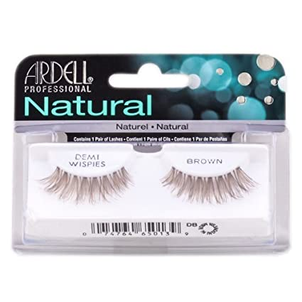 64642468ac5 Ardell Professional Natural Lashes - Demi Wispies Brown # 65013: Amazon.in:  Beauty
