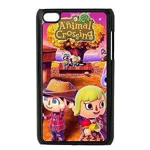 iPod Touch 4 Case Black Animal Crossing Custom FDFNHHGSD2888