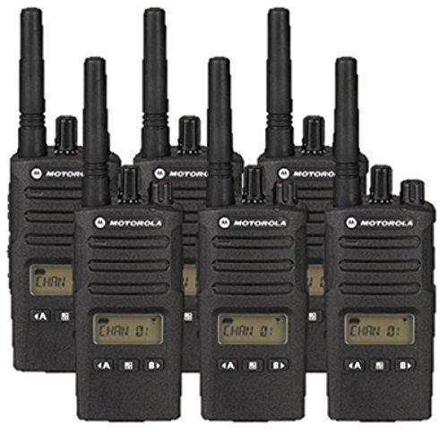 6 Pack of Motorola RMU2080D Two way Radio Walkie Talkies by Motorola