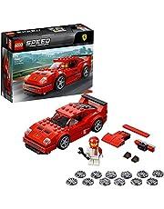 LEGO75890SpeedChampionsFerrariF40CompetizioneRacerminifiguurbouwset,Voertuigvoorkinderen,ForzaHorizon4uitbreidingssetmodel