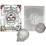 Make your Own Sugar Skull- Mold Makes Decorative Skull for Day of the Dead