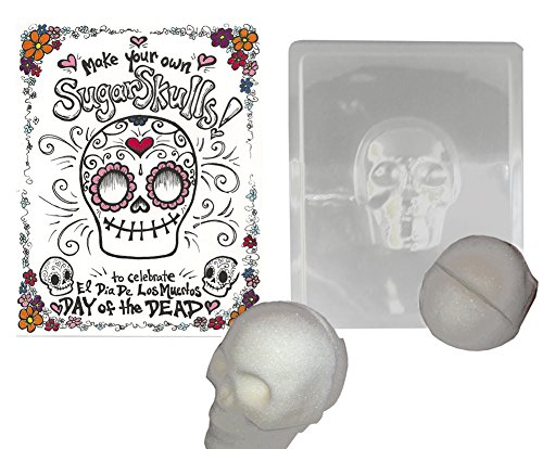 Make your Own Sugar Skull- Mold Makes Decorative Skull for Day of the (Dia Mold)