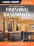 basement finishing ideas Black & Decker The Complete Guide to Finishing Basements (Black & Decker Complete Guide)