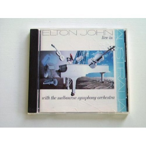 Live In Australia With The Melbourne Symphony Orchestra by John, Elton (1989-10-31) by John, Elton (1989-10-31? by  (Image #1)