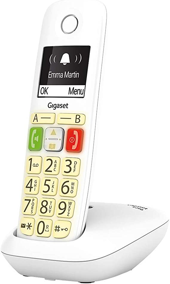 Teléfono inalámbrico Gigaset E290: Amazon.es: Electrónica