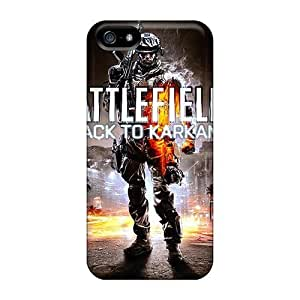 High Grade ConnieJCole Flexible Hard Case For Iphone 5/5s - Battlefield 3 Back To Karkand
