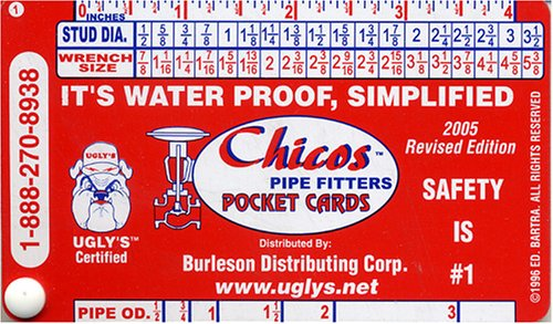 Chico's Pipe Fitters Pocket Cards