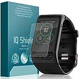 Garmin Vivoactive HR Screen Protector, IQ Shield Matte (6-Pack) Full Coverage Anti-Glare Screen Protector for Garmin Vivoactive HR Bubble-Free Film