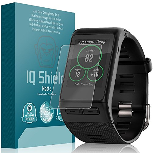 Garmin Vivoactive HR Screen Protector, IQ Shield Matte (6-Pack) Full Coverage Anti-Glare Screen Protector for Garmin Vivoactive HR Bubble-Free Film
