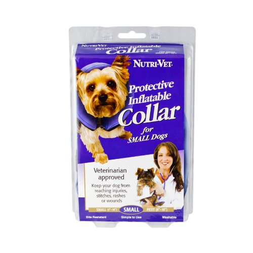Nutri-Vet Protective Inflatable Collar for Dogs, Small