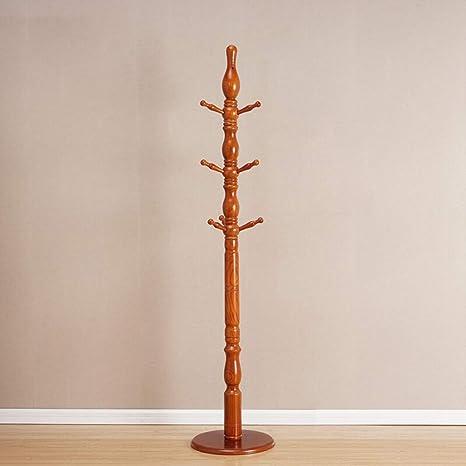 Culo Percha de madera maciza con fondo redondo europeo ...