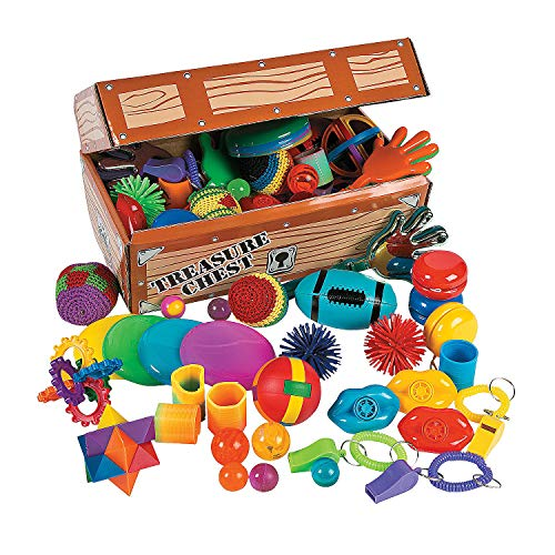 (Fun Express Toy Assortment Treasure Chest - 100 Pieces)