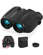 Binoculars for Adults and Kids, 10x25 Compact Binoculars for Bird Watching, Theater and Concerts, Hunting and Sport Games