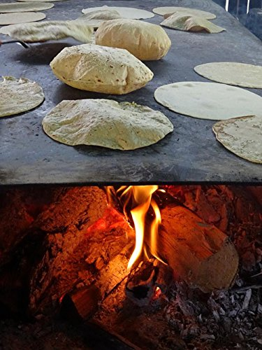 LAMINATED 24x32 POSTER: Tortilla Food Gastronomy Mexico Lena Round Kitchen Mexican Nutrition Typical Gourmet Comal Corn Traditional Fire Stove Taco Handmade Tortilla Cook Inflate