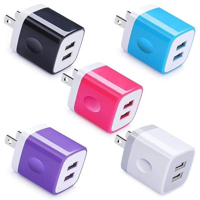 Amazon.com: UorMe - Cargador de pared USB compatible con ...