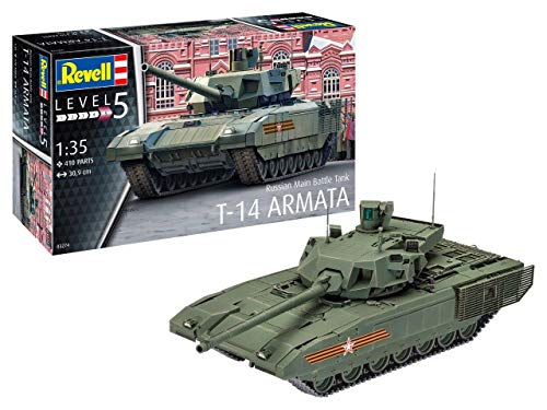 Revell 03274 3274 Russian Main Battle Tank T-14 AR, Multi Colour (Best Main Battle Tank In The World Today)