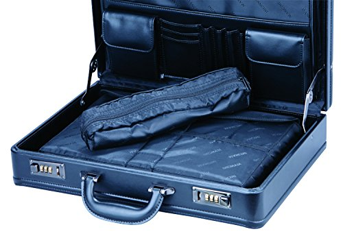 Amazon.com  Mancini Leather Expandable 15.6