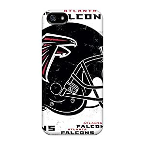 Shock-dirt Proof Atlanta Falcons Case Cover For Iphone 5/5s