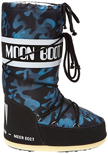 Moon Boot Camu - Zapatos Nero Blu