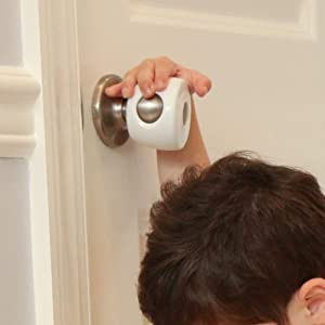 Door Knob Covers - 4 Pack - Child Safety Cover - Child Proof Doors by Jool Baby