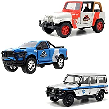 Jurassic World Die Cast Vehicles (Set of 3)