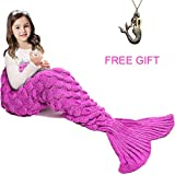 Kyпить Mermaid Tail Blanket ,Hand Crochet Snuggle Mermaid,All Seasons Seatail Sleeping Bag Blanket for Kids,Teenage,Aduit by Jr.White на Amazon.com