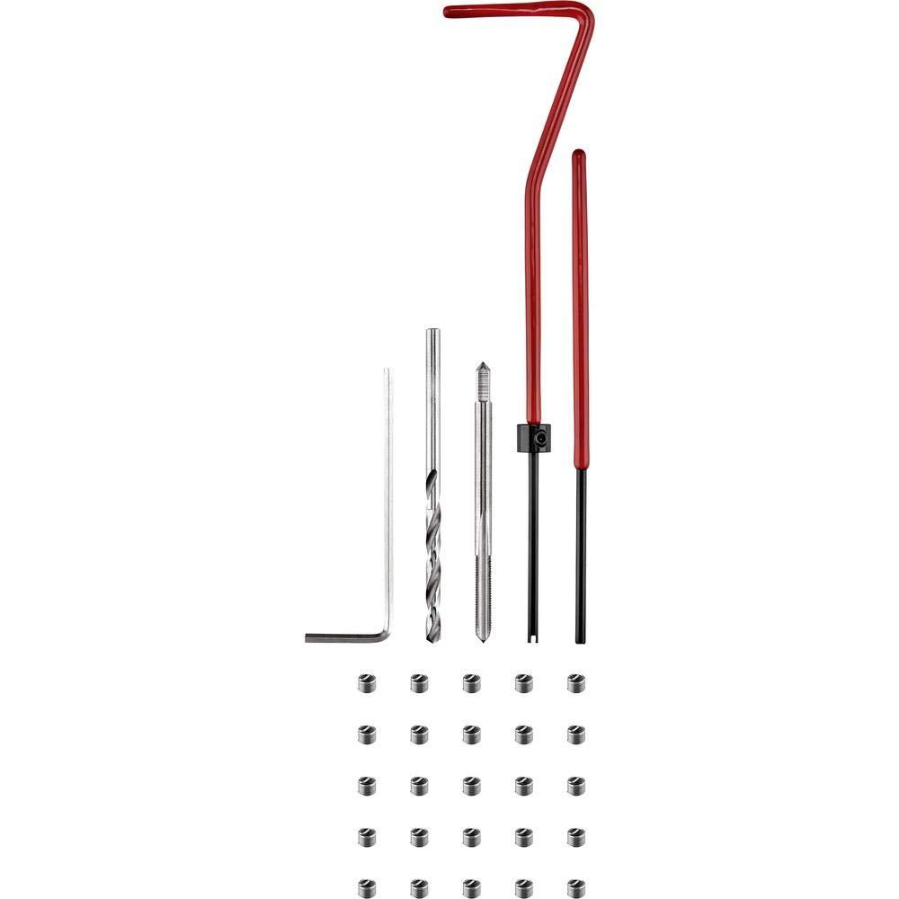 GEWINDEREPARATURSATZ M3 Toolcraft 30TLG