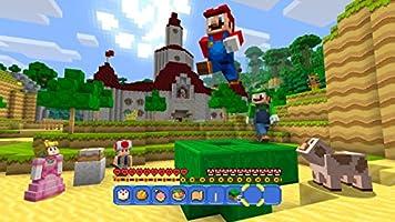 Minecraft Wii U Edition Inkl. Super Mario Mash-Up [Importación ...